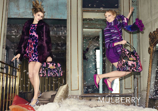 Mulberry Fall 2010 Campaign | Abbey Lee Kershaw & Hanne Gaby Odiele by Steven Meisel
