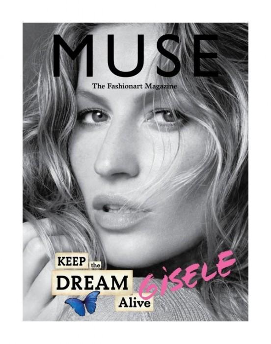 Muse Summer 2010 Covers | Gisele Bundchen, Isabeli Fontana & Angela Lindvall