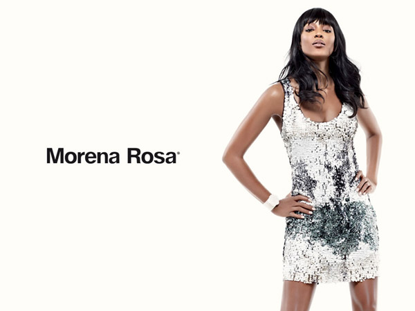 Naomi Campbell for Morena Rosa Spring 2011 Campaign