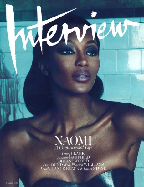 <em>Interview</em> October 2010 Cover | Naomi Campbell by Mert &#038; Marcus