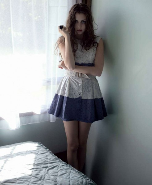 Nasrin Leahy by Karen Inderbitzen-Waller for No. Magazine Fall 2010