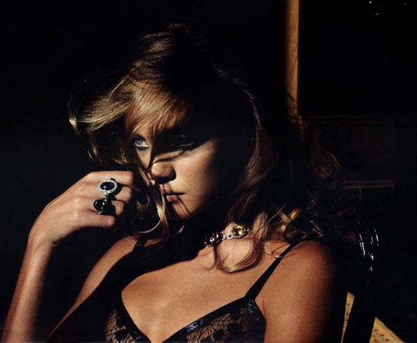 Morning Beauty | Natalia Vodianova by Mario Sorrenti
