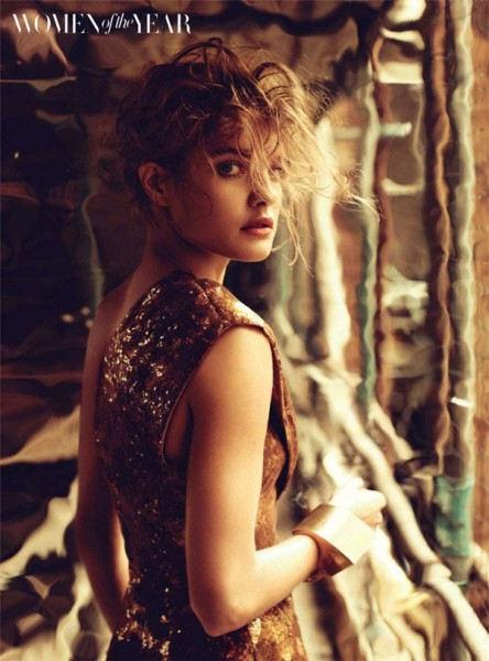 Natalia Vodianova for <em>Harper's Bazaar UK</em> December 2010 by Michelangelo di Battista