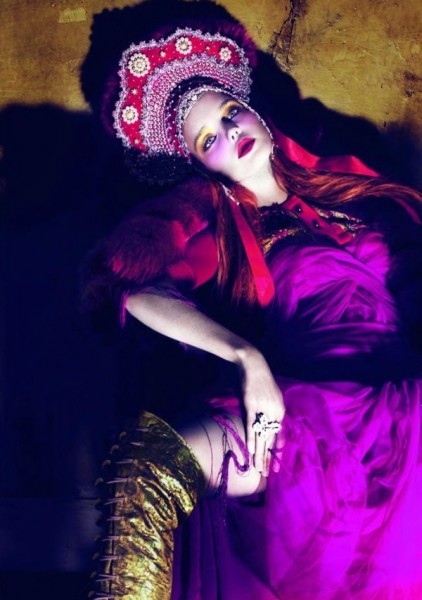 Natalia Vodianova by Mert & Marcus | <em>Vogue Paris</em> April 2010