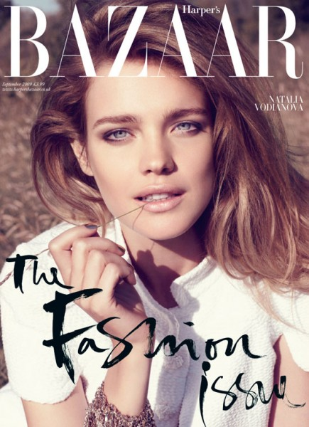 Harper's Bazaar UK September 2009 – Natalia Vodianova