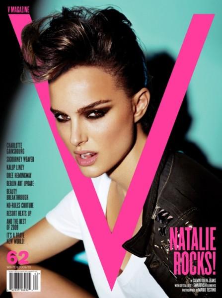 V Magazine #62 | Natalie Portman by Mario Testino