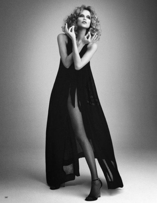 Natasha Poly by Daniele & Iango for Vogue Japan May 2012