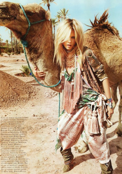 Natasha Poly by Inez & Vinoodh | <em>Vogue Paris</em> April 2010