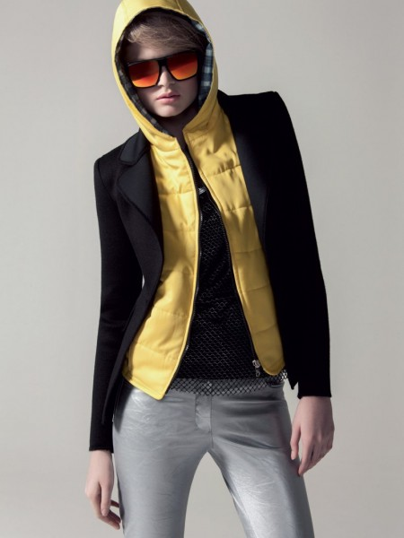 Nathalia Oliveira by Tavinho Costa for Elle Brazil April 2012