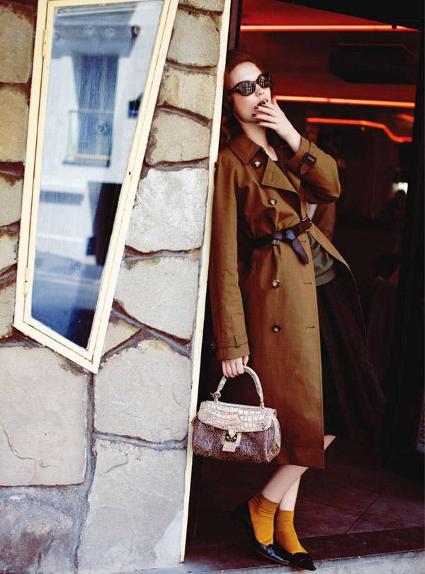 Naty Chabanenko by Serge Leblon for Harper's Bazaar UK September 2010
