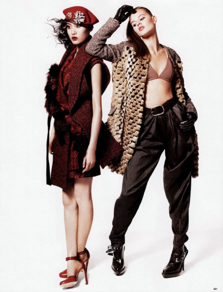 The New Fur | Jason Kibbler for Vogue China October