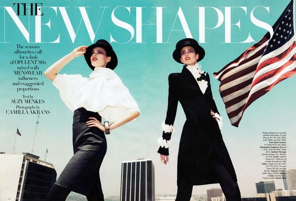 Kendra & Katie Try on 'The New Shapes' for Harper's Bazaar US