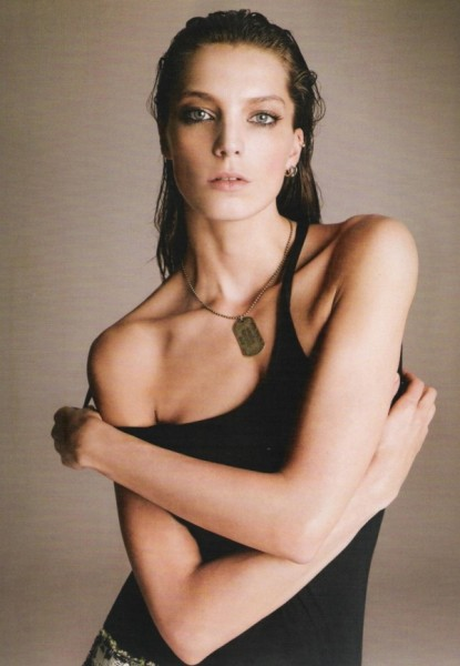 Daria Werbowy by Nico | <em>Harper&#8217;s Bazaar Spain</em> May 2010