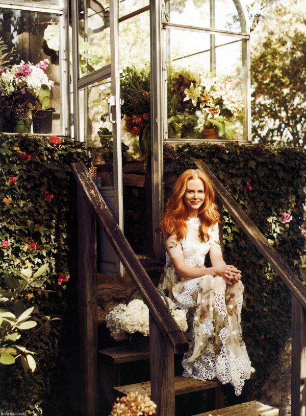 Nicole Kidman for Harper's Bazaar US February 2011 by Alexi Lubomirski
