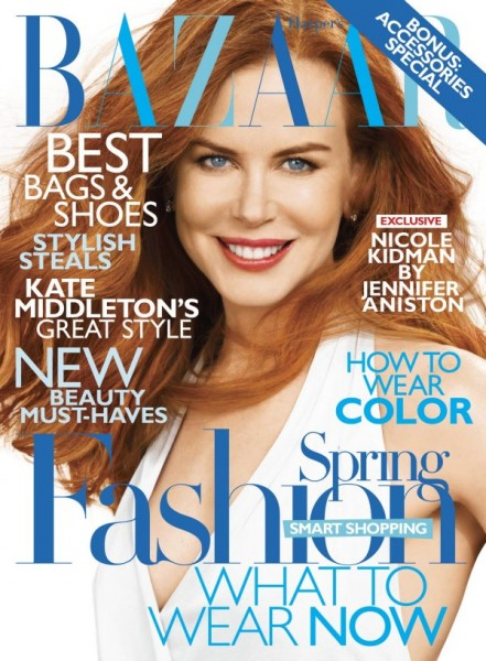 <em>Harper&#8217;s Bazaar US</em> February 2011 Cover | Nicole Kidman by Alexi Lubomirski