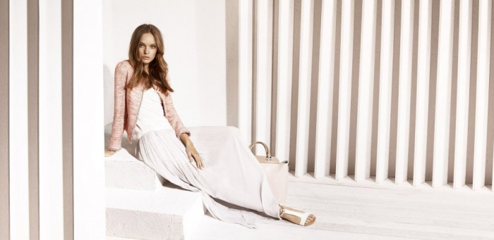 Nimue Smit for Massimo Dutti May 2012 Lookbook