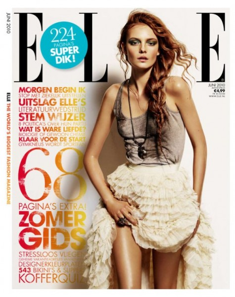 <em>Elle Netherlands</em> June 2010 Cover | Nimue Smit