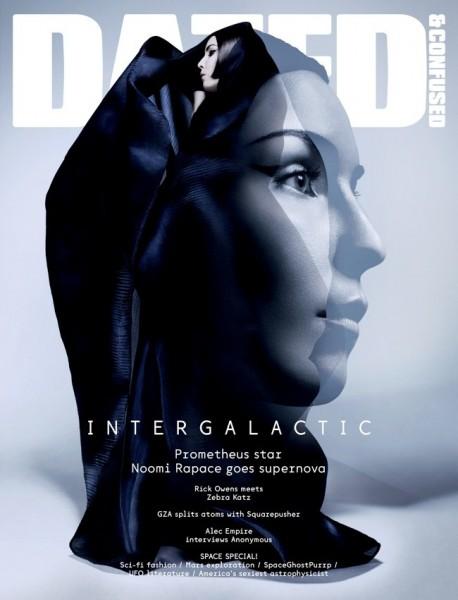 Dazed & Confused June 2012 Cover | Noomi Rapace by Sølve Sundsbø