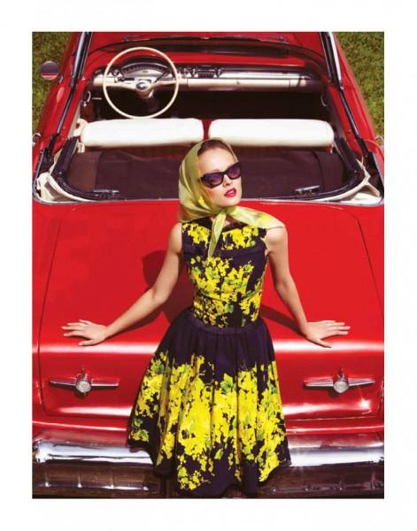 Olga Maliouk by Gabor Jurina for Fashion Canada