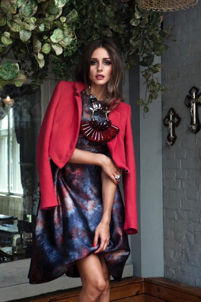 Olivia Palermo Graces Velvet's September 2012 Issue by Luc Coiffait