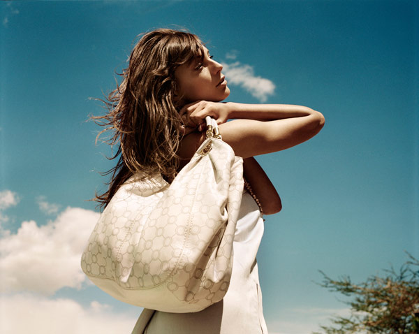 Daria Werbowy for Oroton's Spring/Summer 2010 Campaign by David Mandelberg