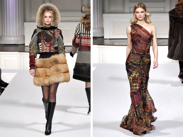 Oscar de la Renta Fall 2011 | New York Fashion Week