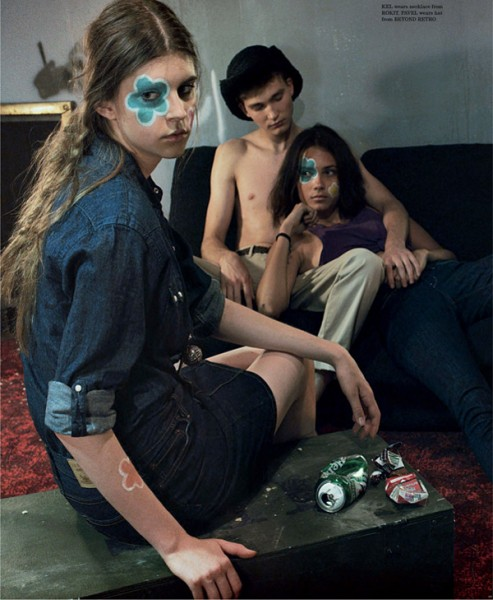 The Outsiders by Sharif Hamza for <em>Dazed & Confused</em> September 2010