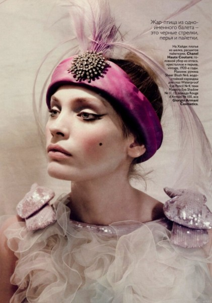 Iris Strubegger & Heidi Mount by Paolo Roversi | <em>Vogue Russia</em> May 2010