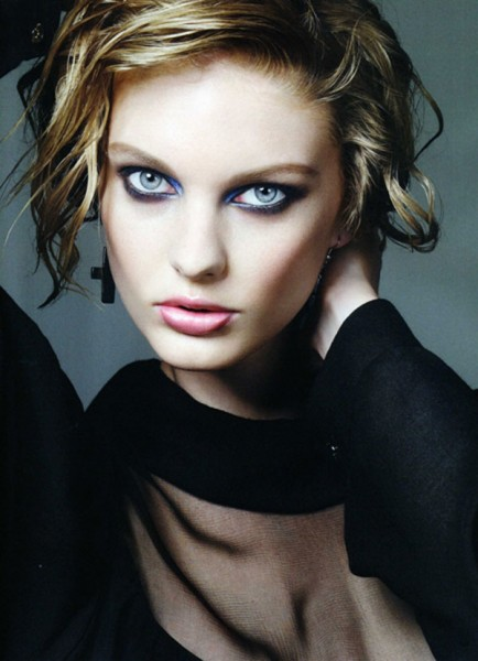 Patricia van der Vliet by Jem Mitchell for <em>Vogue Nippon</em> August 2010