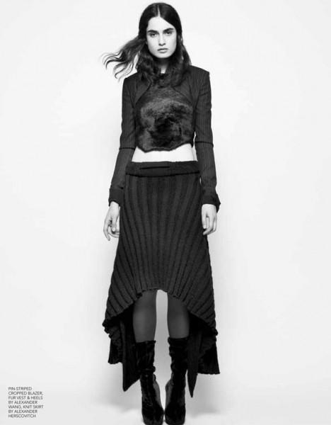 Pauline Van der Cruysse by Derek Kettela for Black #13