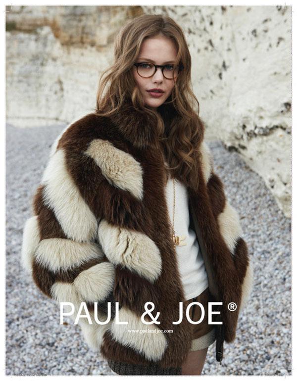 Frida Gustavvson by Patrick Demarchelier for Paul & Joe Fall 2010 Campaign