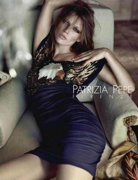Campaign | Masha Novoselova for Patrizia Pepe Fall 2009