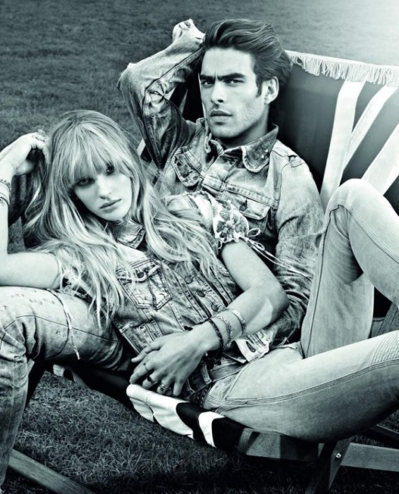 Anne Vyalitsyna for Pepe Jeans Spring 2011 Campaign