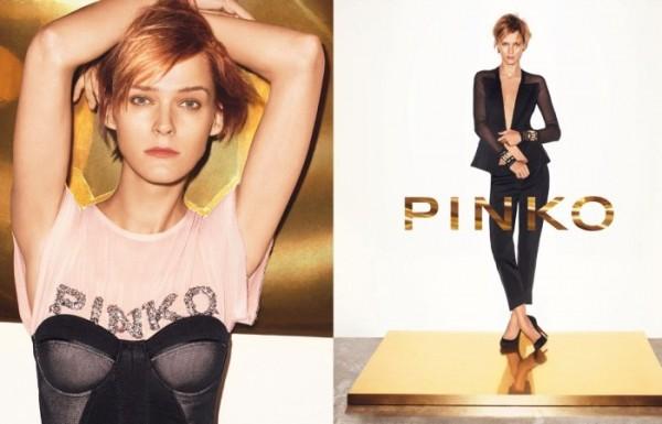 Pinko Spring 2011 Campaign Preview | Carmen Kass by Maciek Kobielski