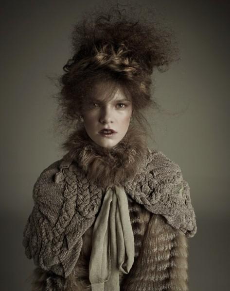 Zuzanna Stankiewicz by Agata Pospieszynska for <em>Glamour Poland</em>