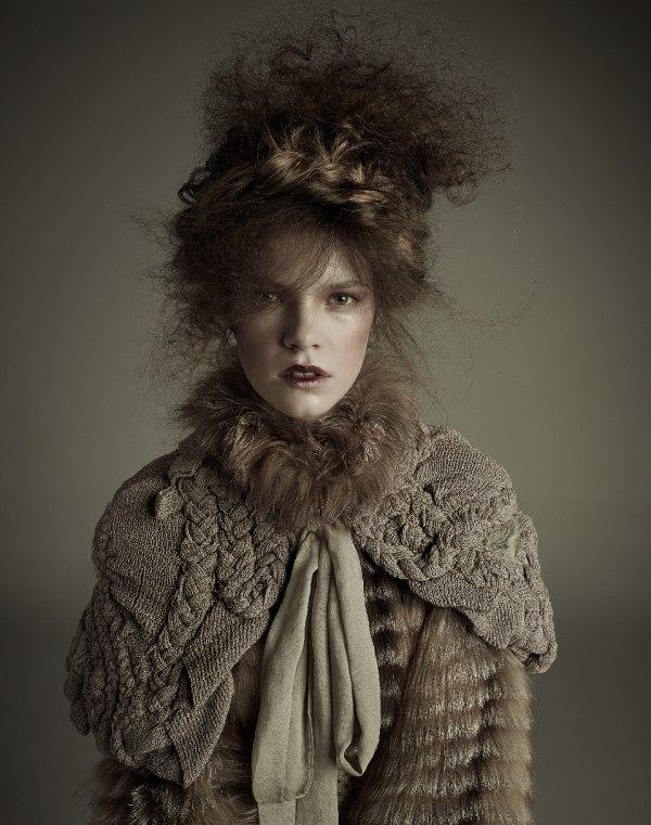 Zuzanna Stankiewicz by Agata Pospieszynska for Glamour Poland