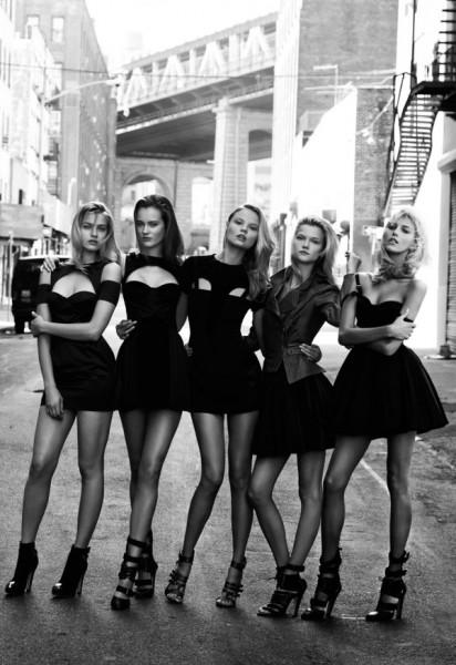 Anja, Monika, Anna, Kasia &#038; Magdalena by Cameron Krone for <em>Viva! Moda</em>