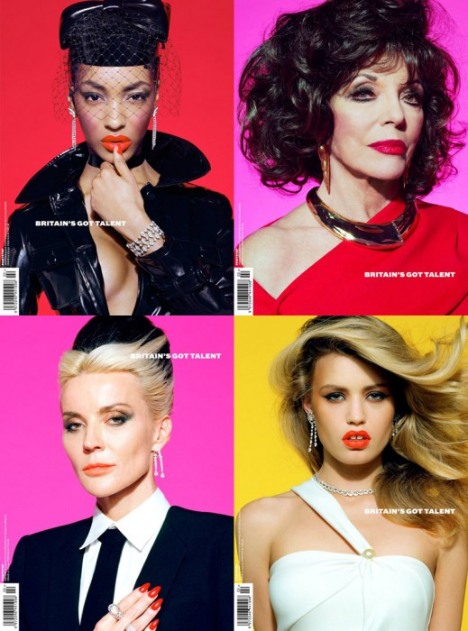 Georgia May Jagger, Jourdan Dunn, Daphne Guinness & Others Cover Ponystep #3