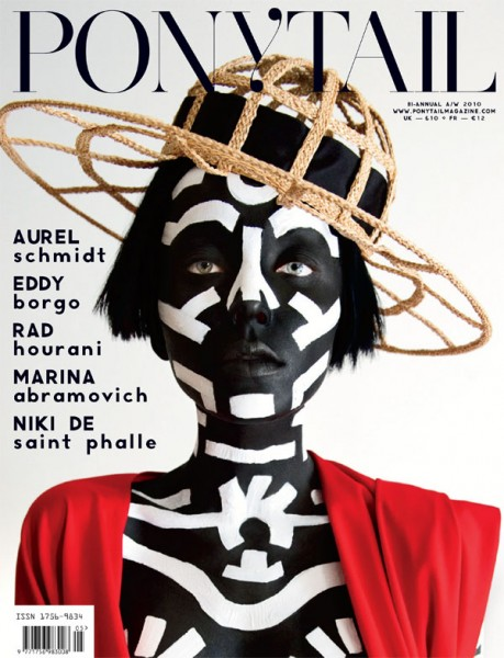 <em>Ponytail</em> F/W 2010 Cover | Andressa Fontana by Jeffrey Graetsch
