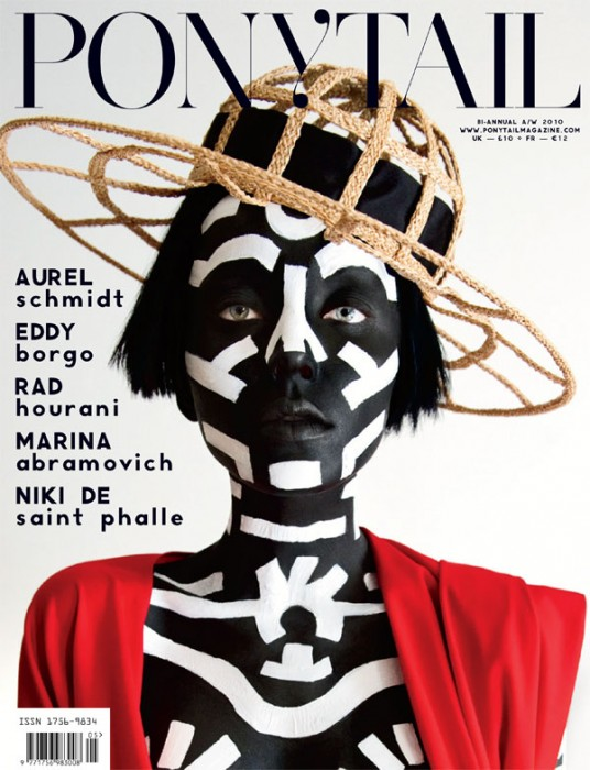 Ponytail F/W 2010 Cover | Andressa Fontana by Jeffrey Graetsch