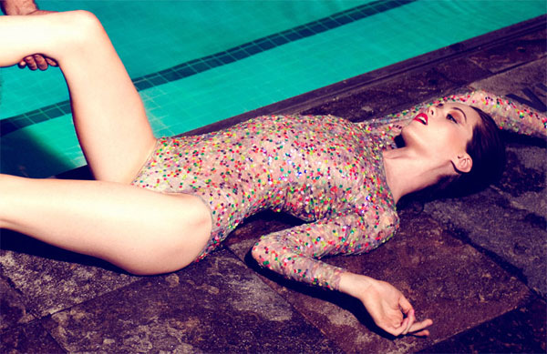 Taylor Warren by Colin Angus for <em>Visual Tales</em> #3