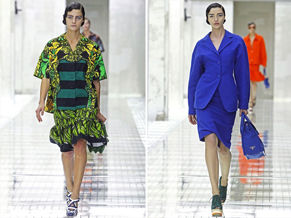 Prada Spring 2011 | Milan Fashion Week