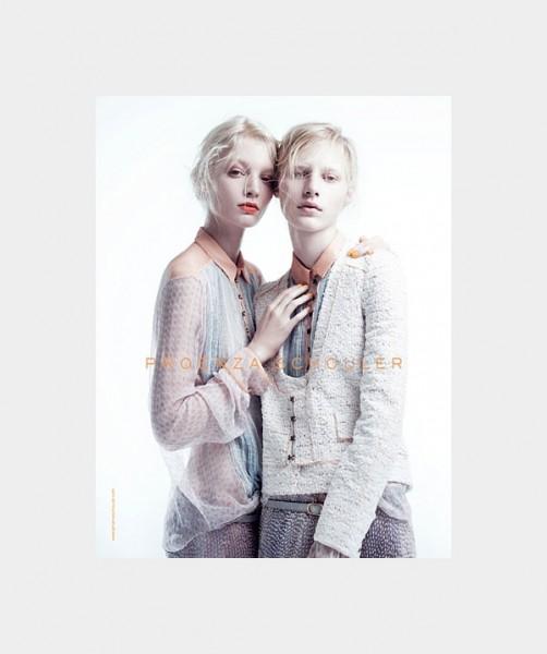 Proenza Schouler Spring 2011 Campaign | Melissa Tammerijn & Julia Nobis by Willy Vanderperre