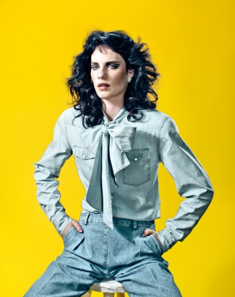 Querelle Jansen by Marc de Groot for <em>Glamour Netherlands</em> March 2011