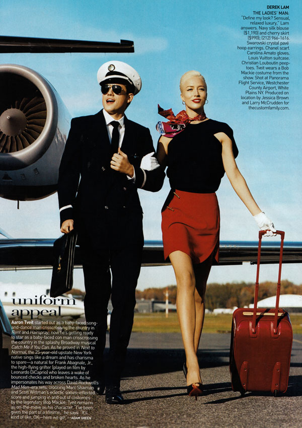 Vogue US January | Raquel Zimmermann by Norman Jean Roy