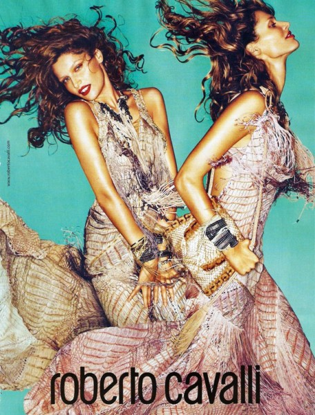 Roberto Cavalli Spring 2011 Campaign Preview | Laetitia Casta & Malgosia Bela by Mert & Marcus