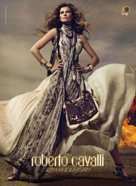 Roberto Cavalli Fall 2010 Campaign Preview | Gisele Bundchen by Mert & Marcus