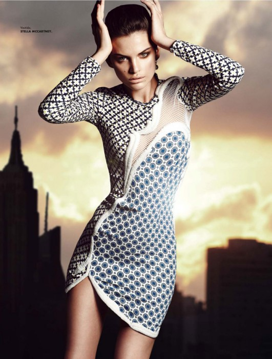 Regina Feoktistova by Manolo Campion for Elle Mexico April 2012