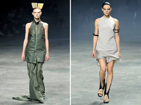 Rick Owens Spring 2011 | Paris Fashion Week