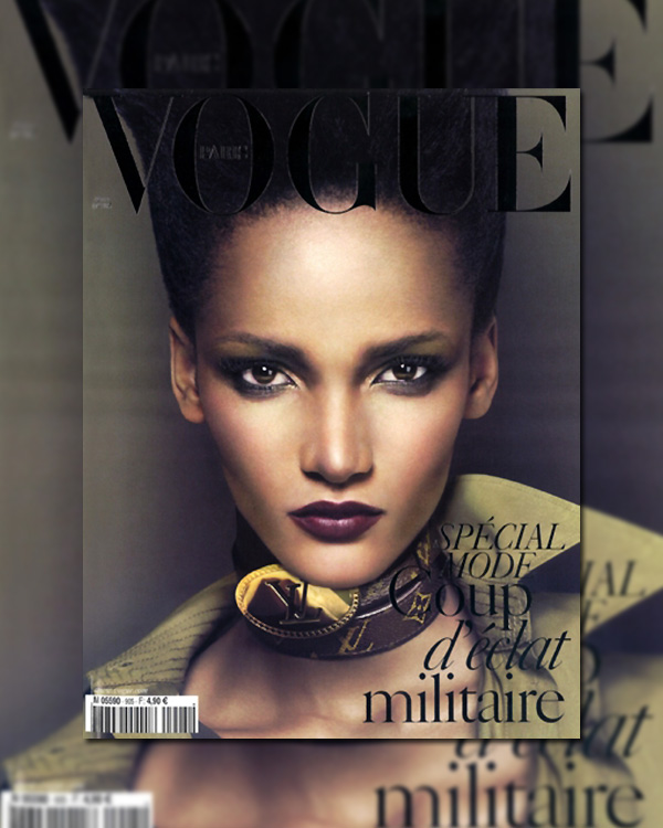 Vogue Paris March 2010 Cover | Rose Cordero by Mert Alas & Marcus Piggott
